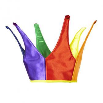 """Krone aus Polyester """"Regenbogen"""""""