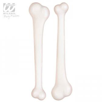Künstliche Knochen 23 cm 2er Pack