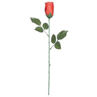 Künstliche rote Rose 43 cm