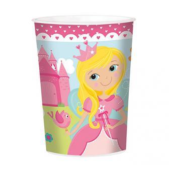 """Kunststoffbecher """"Liebliche Prinzessin"""" 473 ml"""