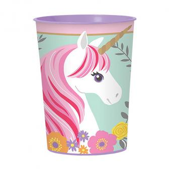 "Kunststoffbecher ""Magic Unicorn"" 473 ml"