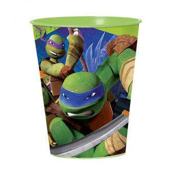 "Kunststoffbecher ""Ninja Turtles"" 473 ml"