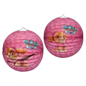 Lampion Pink Paw Patrol 25 cm