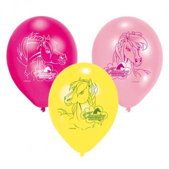 """Luftballons """"Charming Horses"""" 6er Pack"""