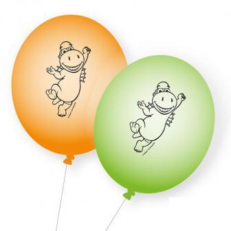 "Luftballons ""Der kleine Drache Kokosnuss"" 8er Pack"