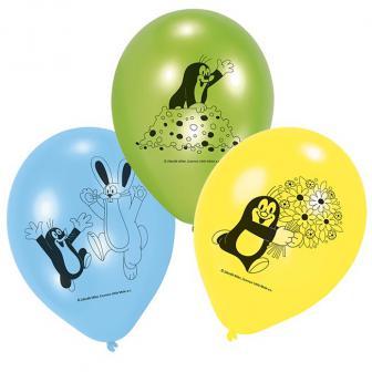 """Luftballons """"Der kleine Maulwurf"""" 6er Pack"""