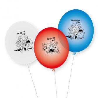 Luftballons Drei Fragezeichen 9er Pack