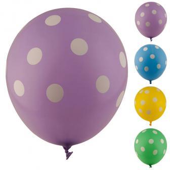 "Luftballons ""Farbenfroher Punkte-Spaß"" 5er Pack"