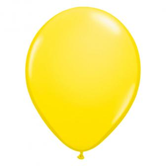 Luftballons-50er Pack-gelb