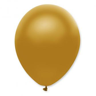 Luftballons in Perlmutt-Optik 6er Pack-gold