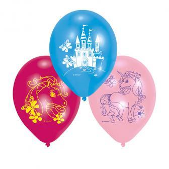 """Luftballons """"Kleines Einhorn"""" 6er Pack"""