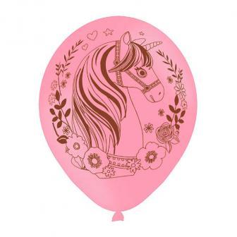 "Luftballons ""Magic Unicorn"" 6er Pack"