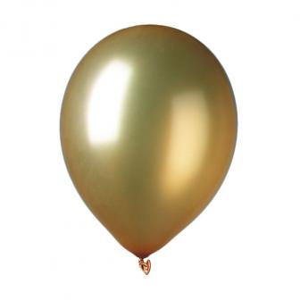 Luftballons Metallic 9er Pack-gold
