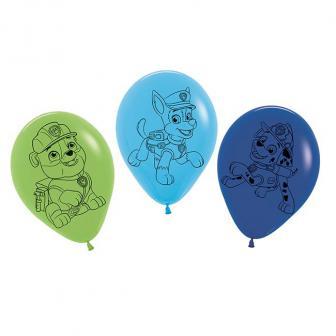 """Luftballons """"Paw Patrol - Helfer auf vier Pfoten"""" 5er Pack"""