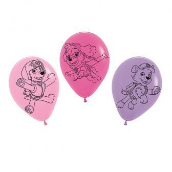 """Luftballons """"Pink Paw Patrol"""" 5er Pack"""