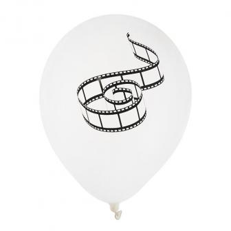 "Luftballons ""Quirlige Filmstreifen"" 8er Pack"
