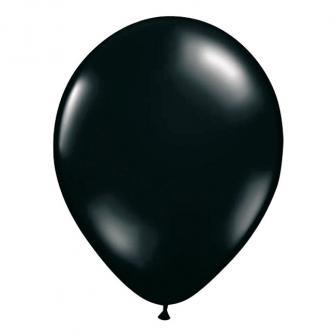 Luftballons-10er Pack-schwarz