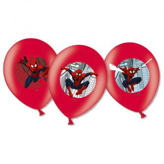 "Luftballons ""Spiderman Party"" 6er Pack"