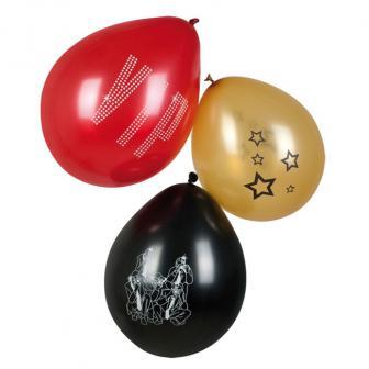 """Luftballons """"VIP"""" 6er Pack"""