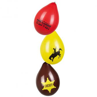 "Luftballons ""Wild Cowboy"" 6er Pack"