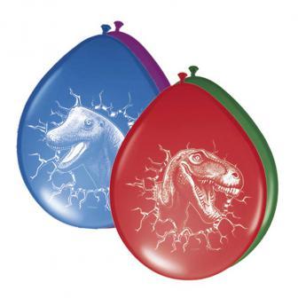 """Luftballons """"Abenteuerliche Dinos"""" 6er Pack"""