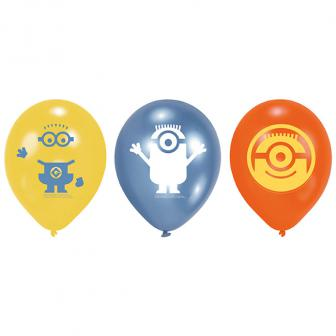 "Luftballons ""Die Minions"" 6er Pack"