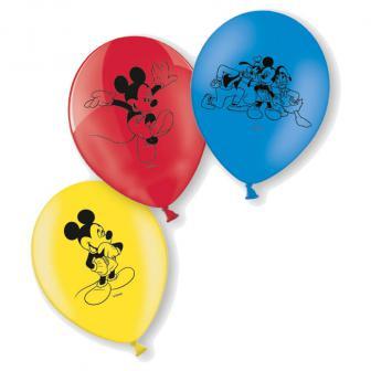 """Luftballons """"Micky Maus und Freunde"""" 6er Pack"""
