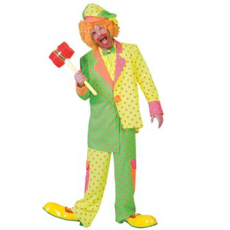 "Männer-Kostüm ""Clown"" 4-tlg."