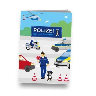 """Mal- und Rätselheft """"Polizei"""""""