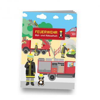 """Mal- und Rätselheft """"Spannende Feuerwehr"""""""