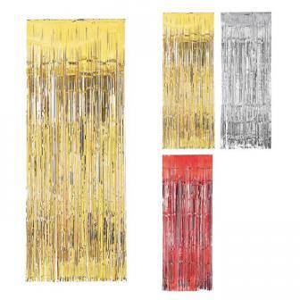 Metallic-Türvorhang Lametta Glamour 241 cm