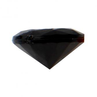 Mini Deko-Diamanten 50er Pack-schwarz