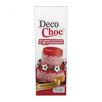 "Modellier-Schokolade ""Deco Choc"" 100g-rot"