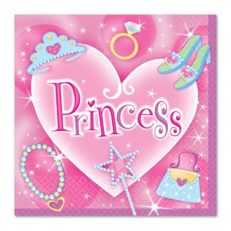 "Servietten ""Princess"" 16er Pack"