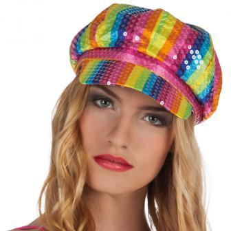 Mütze Lollipop mit Pailletten