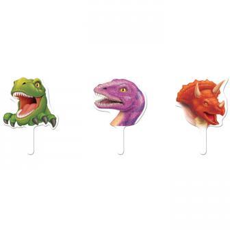 """Muffindeko """"Gefährliche Dinosaurier"""" 12er Pack"""