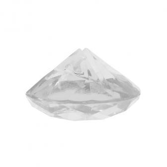 "Namensschildhalter ""Diamond"" 4er Pack-transparent"