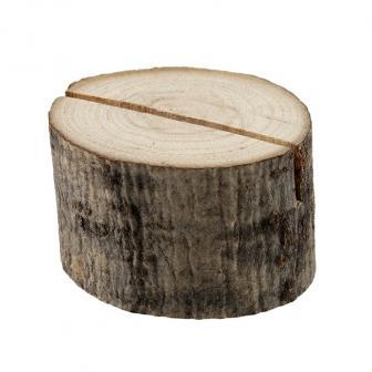 """Namensschildhalter """"Holz"""" 2er Pack"""