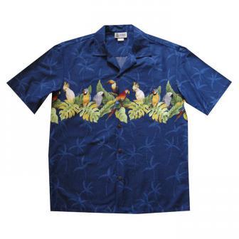 Original Hawaiihemd Parrots Paradise