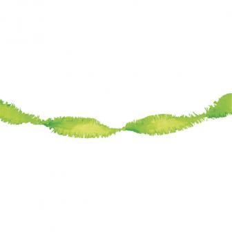 Papier-Girlande 6 m-apfelgrün