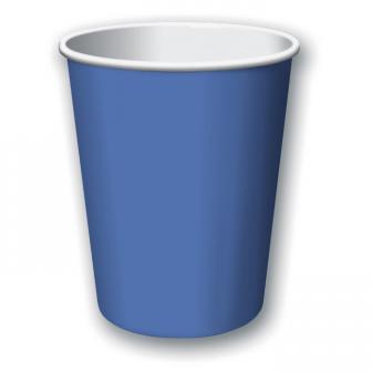 Pappbecher 24er Pack-blau