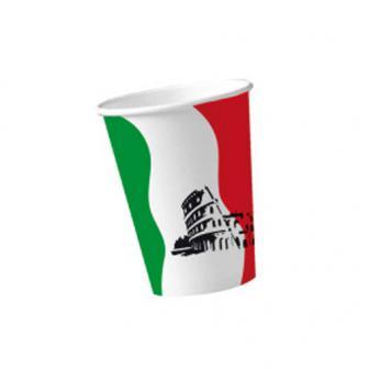 "Pappbecher ""Italien- Rom"" 10er Pack"