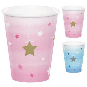 """Pappbecher """"Little Star"""" 8er Pack"""