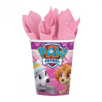 """Pappbecher """"Paw Patrol for Girls"""" 8er Pack"""