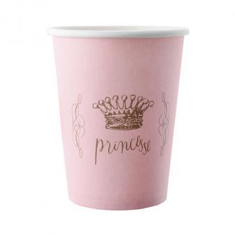"Pappbecher ""Pretty Princess"" 6er Pack"