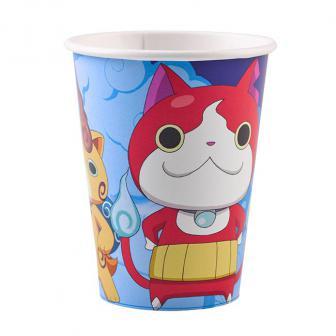 "Pappbecher ""Yo-Kai Watch"" 8er Pack"