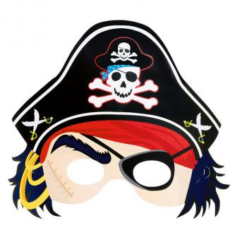 "Pappmaske ""Pirat"" 25,5 cm"