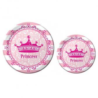"""Pappteller """"Royal Princess"""" 8er Pack"""