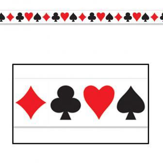 "Party-Absperrband ""Casino-Life"" 6 m"