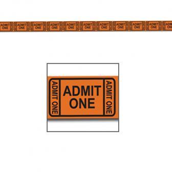 """Party-Absperrband """"Eintrittskarten"""" 15 m"""